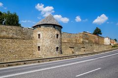 Fortification wall in Levoca in Slovakia Stock Photography