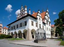 Levoca, Slovakia. Historic renaissance town hall in Levoca, northern Slovakia royalty free stock photo