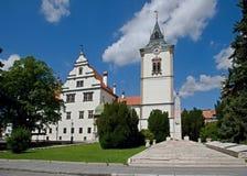Levoca, Slovakia. Historic renaissance town hall in Levoca, northern Slovakia royalty free stock image