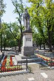 Levoca, Slovakia. Statue of Ludovit Stur Royalty Free Stock Images