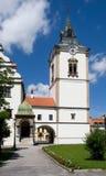 Levoca, Slovakia. Tower historic renaissance town hall in Levoca, northern Slovakia stock photography