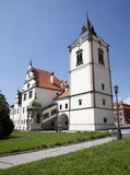 Levoca - tower of renaissance town hall Royalty Free Stock Images