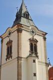 Levoca urząd miasta Fotografia Stock