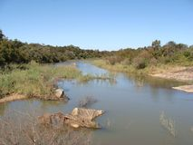 Levubu-Fluss Lizenzfreies Stockbild