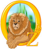 lew ilustracji