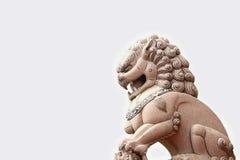 lew chińska statua Zdjęcie Royalty Free