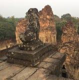 lew ciemniuteńki Archeological ruiny Siem Przeprowadza żniwa, zdjęcie royalty free