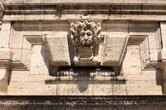 Lew fontanna Rzym Włochy Zdjęcia Stock