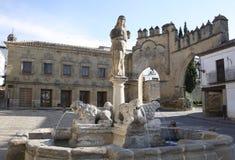 LEW fontanna W BAEZA zdjęcia royalty free