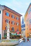 Lew fontanna w Bern Zdjęcie Stock