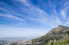 Lew głowa dniem, Kapsztad, Południowa Afryka Obraz Stock