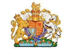 Lew i jednorożec Zdjęcie Royalty Free