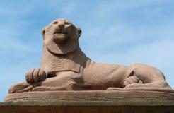 lew posąg Obrazy Stock
