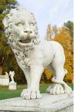 lew posąg Obrazy Royalty Free