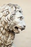 Lew rzeźba zdjęcia stock
