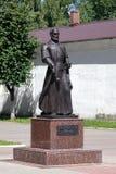 Lew Sapieha的纪念碑在Lepel,白俄罗斯 免版税库存照片