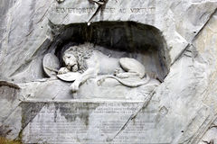 lew statua Zdjęcia Stock
