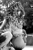 Lew statua Obraz Royalty Free