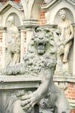 lew statua Fotografia Stock