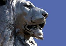 Lew statua w Londyn zdjęcie stock