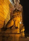 Lew statuy Obrazy Stock