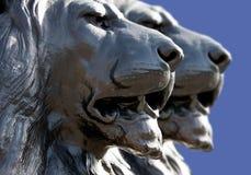 Lew statuy w Londyn zdjęcia royalty free