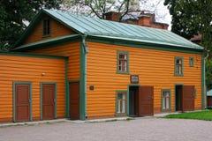 Lew Tolstois altes Haus lizenzfreie stockfotos