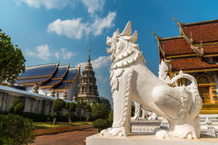 Lew w Tajlandzkich tradycyjnych bajkach Obraz Stock
