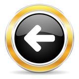 lewa ikona Zdjęcie Stock