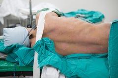 Lewa lateral decubitus pozycja Zdjęcia Royalty Free