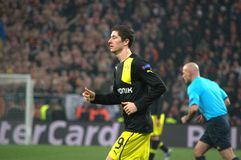 Lewandowski in action Stock Image