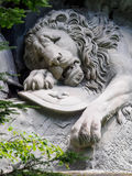 Lewendenkmal, the lion monument landmark in Lucerne, Switzerland Royalty Free Stock Images