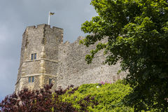 Lewes Castle στο ανατολικό Σάσσεξ Στοκ Εικόνα