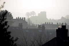 Lewes Castle Royalty Free Stock Photos