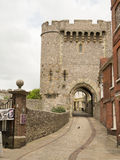 Lewes Castle. Is a Norman castle on two artificially built hills above the English town of Lewes in East Sussex royalty free stock photos