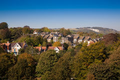 Lewes east sussex england,United Kingdom. A beautifull sunny day Royalty Free Stock Images