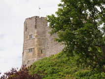 Lewes kasztel Zdjęcia Royalty Free