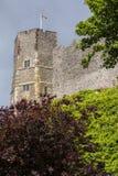 Lewes kasztel w Wschodnim Sussex Obrazy Royalty Free