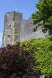 Lewes kasztel w Wschodnim Sussex Zdjęcie Royalty Free