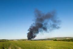 Lewes que recicla el fuego del centro Fotos de archivo