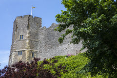 Lewes-Schloss in Ost-Sussex Stockfoto