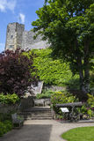 Lewes-Schloss in Ost-Sussex Stockbild