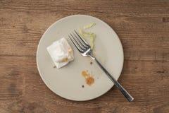 Lewi nadmiar gość restauracji na stole obraz stock