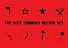 Lewi symbole ustawiający ilustracji