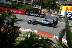 Lewis Χάμιλτον (GBR), ομάδα AMG Mercedes F1, 2016 Μονακό GP, ελεύθερη Στοκ Εικόνες