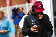 Lewis Χάμιλτον (GBR), ομάδα AMG Mercedes F1, 2016 Μονακό GP Στοκ Φωτογραφίες