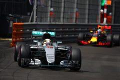 Lewis Χάμιλτον (GBR), ομάδα AMG Mercedes F1, 2016 Μονακό GP Στοκ Εικόνες