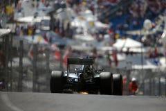 Lewis Χάμιλτον (GBR), ομάδα AMG Mercedes F1, 2016 Μονακό GP, qual Στοκ εικόνες με δικαίωμα ελεύθερης χρήσης