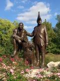 Lewis & Clark statua obraz royalty free