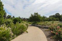 Lewis Ginter Botanical Garden a Richmond, la Virginia, U.S.A. immagine stock